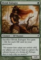 Lorwyn Foil: Elvish Eulogist