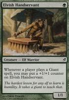 Lorwyn Foil: Elvish Handservant