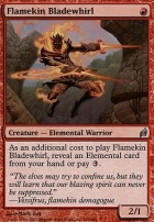 Lorwyn: Flamekin Bladewhirl