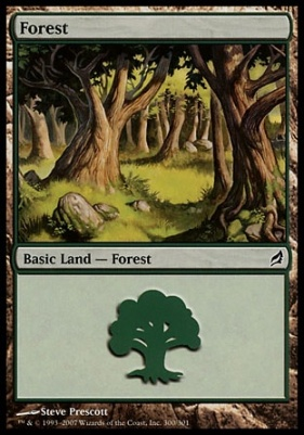 Lorwyn: Forest (300 C)