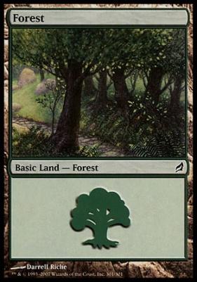 Lorwyn: Forest (301 D)