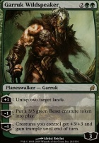 Lorwyn Foil: Garruk Wildspeaker