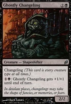Lorwyn: Ghostly Changeling