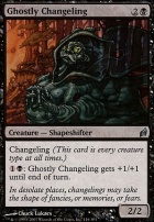Lorwyn Foil: Ghostly Changeling