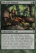 Lorwyn: Gilt-Leaf Ambush