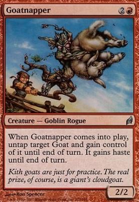 Lorwyn Foil: Goatnapper