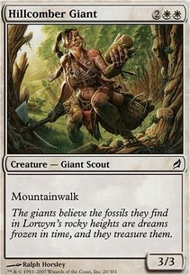 Lorwyn: Hillcomber Giant