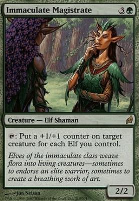 Lorwyn: Immaculate Magistrate
