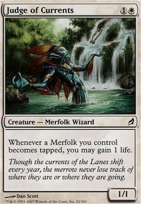 Lorwyn: Judge of Currents