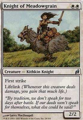 Lorwyn: Knight of Meadowgrain