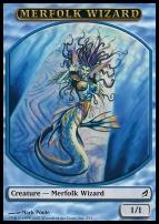 Lorwyn: Merfolk Wizard Token