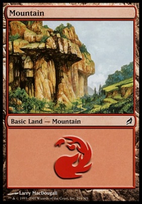 Lorwyn: Mountain (294 A)