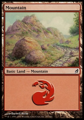 Lorwyn Foil: Mountain (297 D)