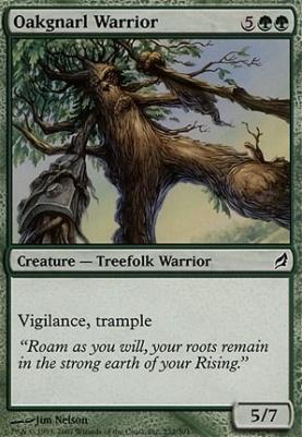 Lorwyn: Oakgnarl Warrior
