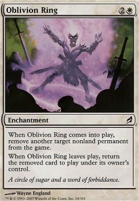 Lorwyn Foil: Oblivion Ring