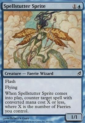 Lorwyn: Spellstutter Sprite