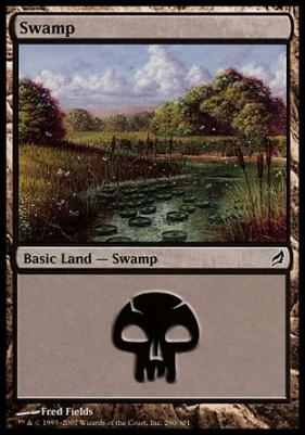 Lorwyn: Swamp (290 A)