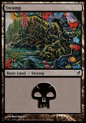 Lorwyn: Swamp (291 B)