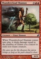 Lorwyn: Thundercloud Shaman
