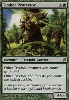 Lorwyn Foil: Timber Protector
