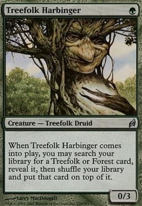 Lorwyn Foil: Treefolk Harbinger