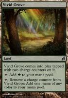 Lorwyn Foil: Vivid Grove
