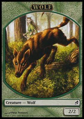 Lorwyn: Wolf Token