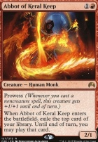Magic Origins Foil: Abbot of Keral Keep