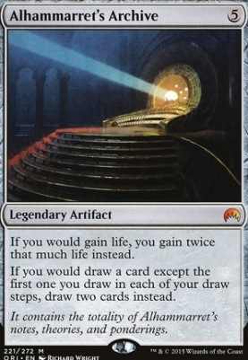 Magic Origins Foil: Alhammarret's Archive