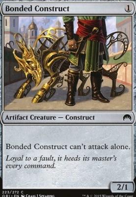 Magic Origins Foil: Bonded Construct