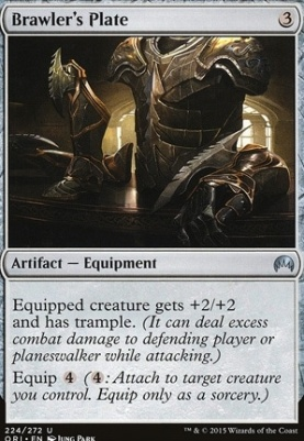 Magic Origins Foil: Brawler's Plate