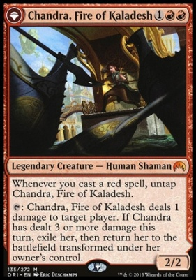 Magic Origins Foil: Chandra, Fire of Kaladesh