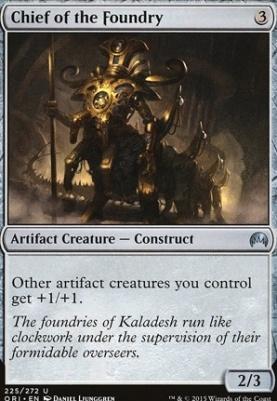 Magic Origins Foil: Chief of the Foundry