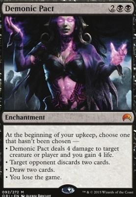 Magic Origins Foil: Demonic Pact
