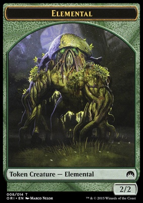 Magic Origins: Elemental Token
