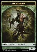 Magic Origins: Elf Warrior Token