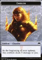 Magic Origins: Emblem (Chandra, Roaring Flame)