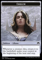 Magic Origins: Emblem (Liliana, Defiant Necromancer)