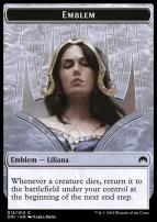 Magic Origins: Emblem (Liliana, Defiant Necromancer)
