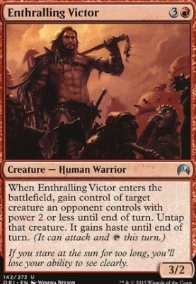 Magic Origins Foil: Enthralling Victor