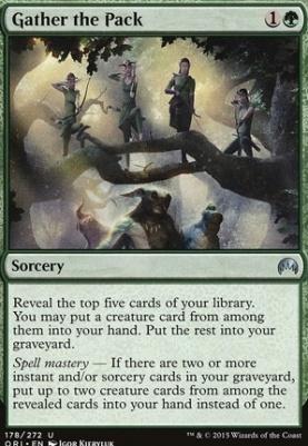 Magic Origins: Gather the Pack