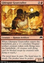 Magic Origins Foil: Ghirapur Gearcrafter