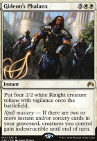 Magic Origins Foil: Gideon's Phalanx