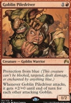 Magic Origins Foil: Goblin Piledriver