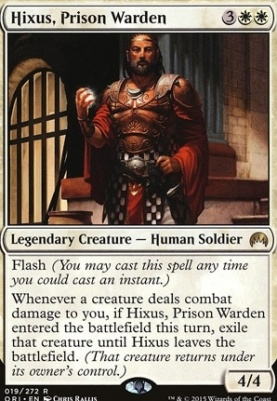 Magic Origins: Hixus, Prison Warden