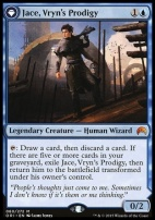 Magic Origins Foil: Jace, Vryn's Prodigy
