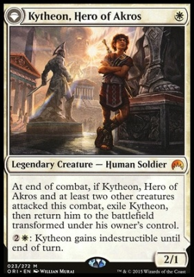Magic Origins Foil: Kytheon, Hero of Akros