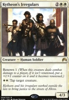 Magic Origins Foil: Kytheon's Irregulars