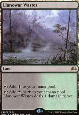Magic Origins: Llanowar Wastes
