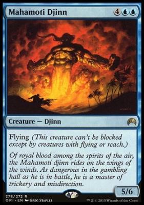 Magic Origins: Mahamoti Djinn